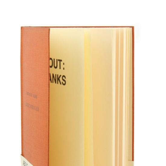about blanks orange sketchbook