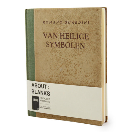 About blanks brown sketchbook