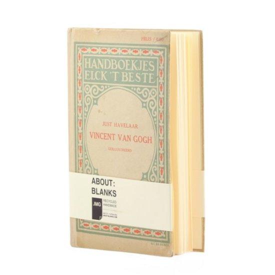 About Blanks Van Gogh sketchbook