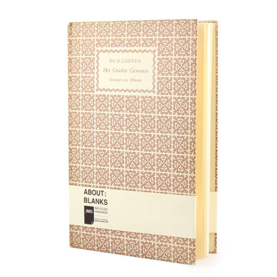 About Blanks pattern notebook