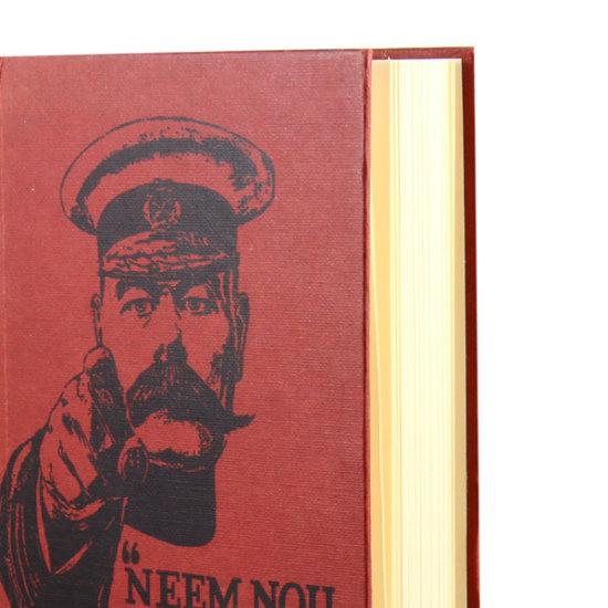 Dark red London Notebook