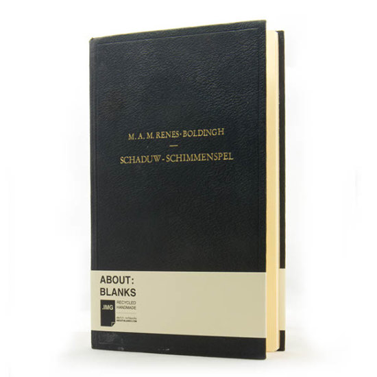 Black notebook about blanks