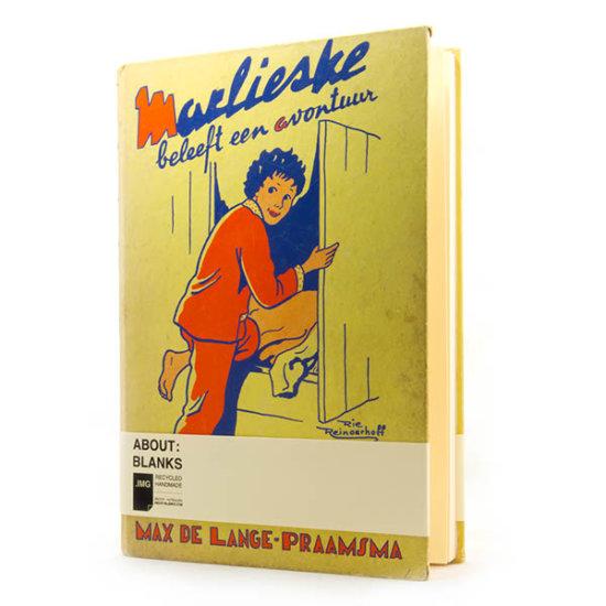 Marlieske About Blanks notebook