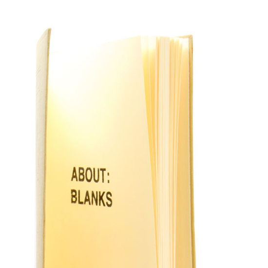 sketchbook About Blanks