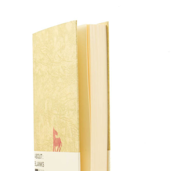 recycled book cover notebook