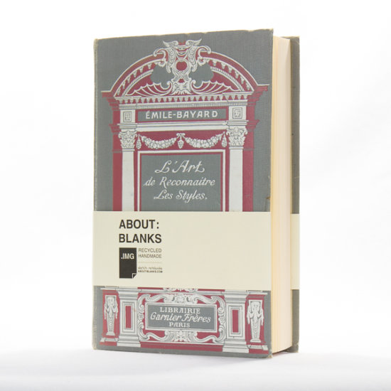 paris sketchbook about blanks