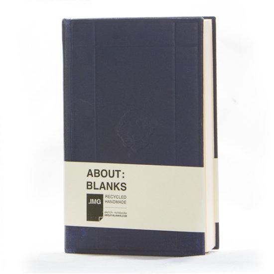 dark blue notebook about Blanks