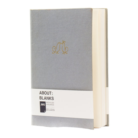 Handmade About Blanks unique sketchbook