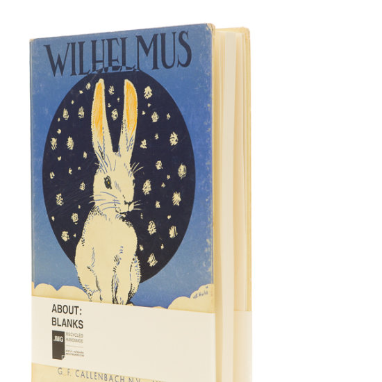 Wilhelmus rabbit notebook
