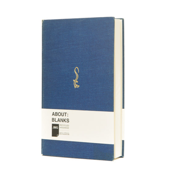 Dark blue Salamander notebook