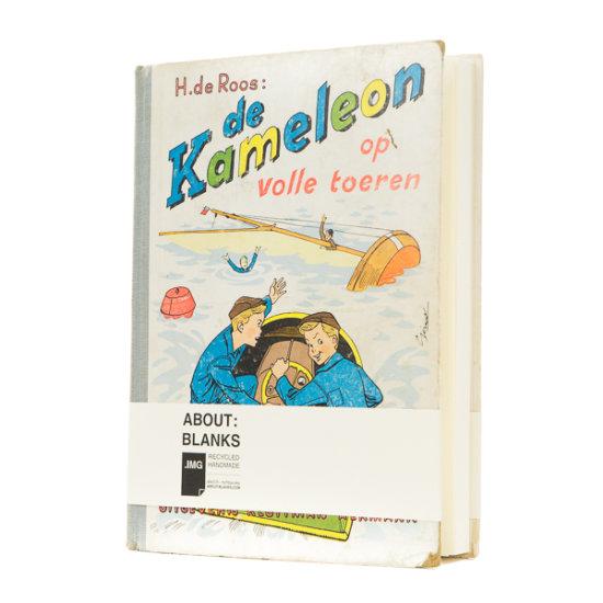 De Kameleon old book cover notebook