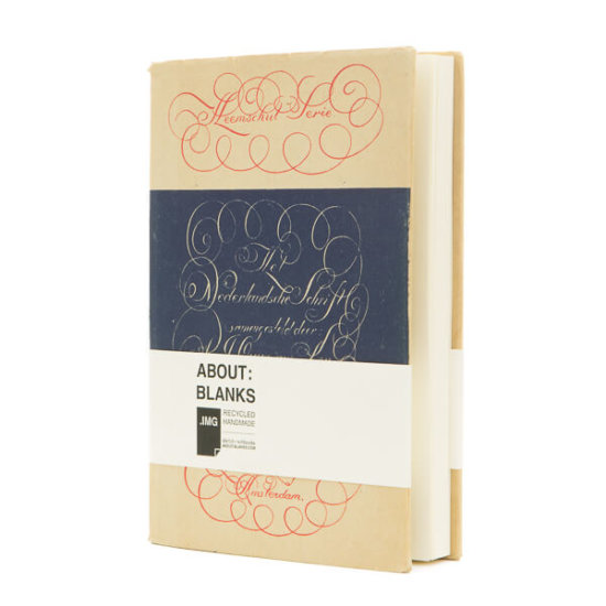 About Blanks handmade notebook