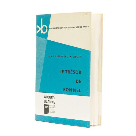 Blue tones notebook