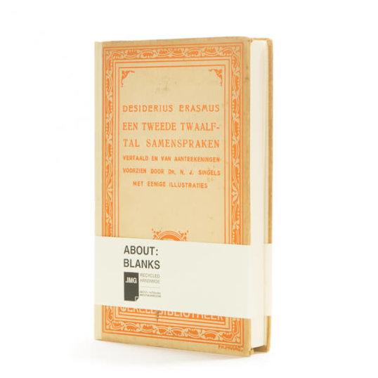 Orange Erasmus notebook by About Blanks