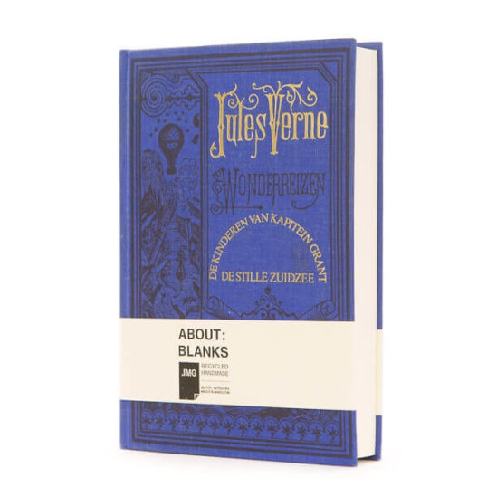 Handmade Jules verne notebook
