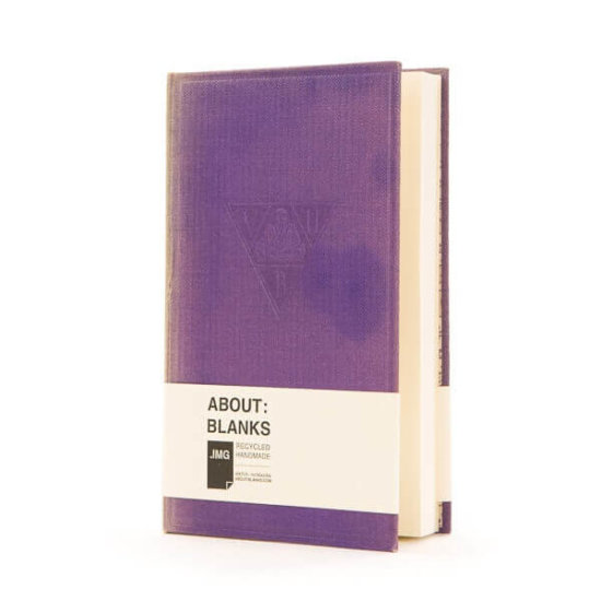 Purple rain notebook About Blanks