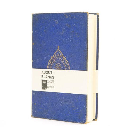 Dark blue sketchbook