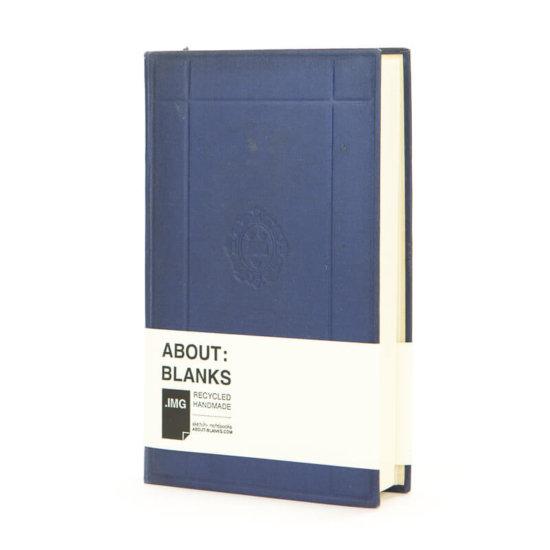 Dark blue About Blanks sketch- notebook