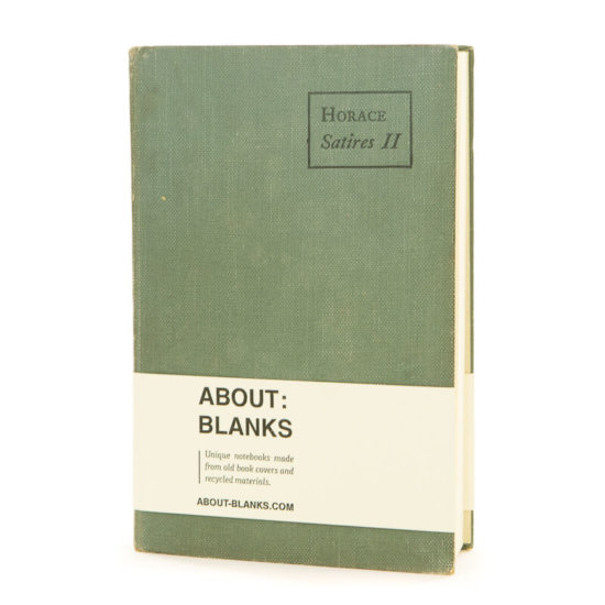 Unique handmade notebook About Blanks