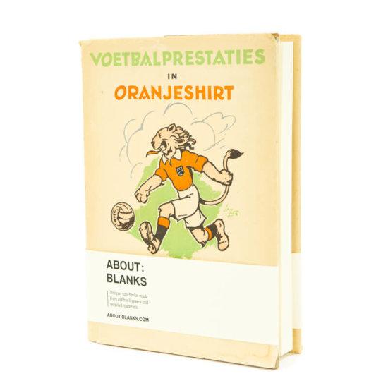 Oranje voetbal notitieboek