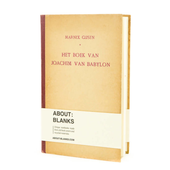 Original About Blanks sketchbook notebook