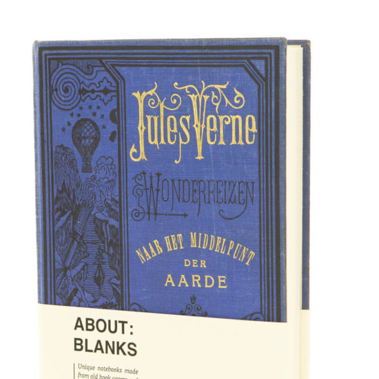 About Blanks notebook Jules Verne