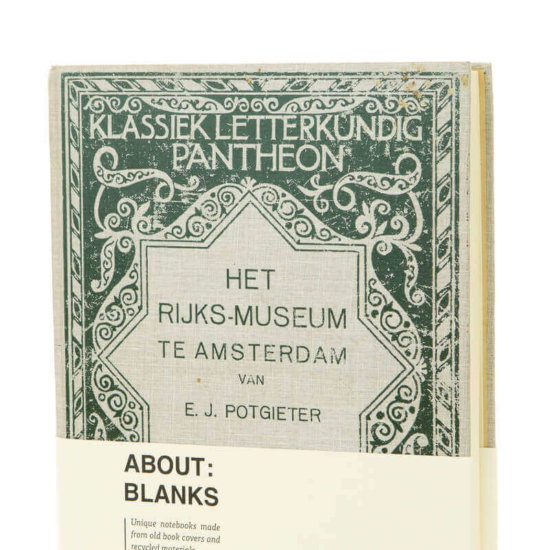 Detail Rijksmuseum notebook by About Blanks