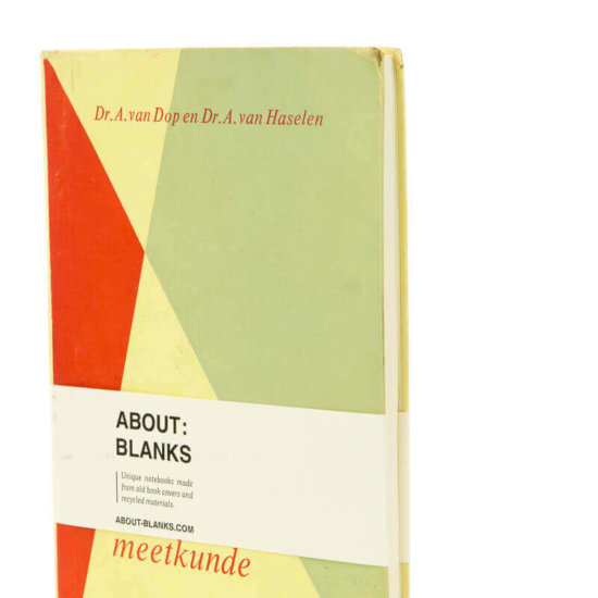 About Blanks Rebound old book cover notebook