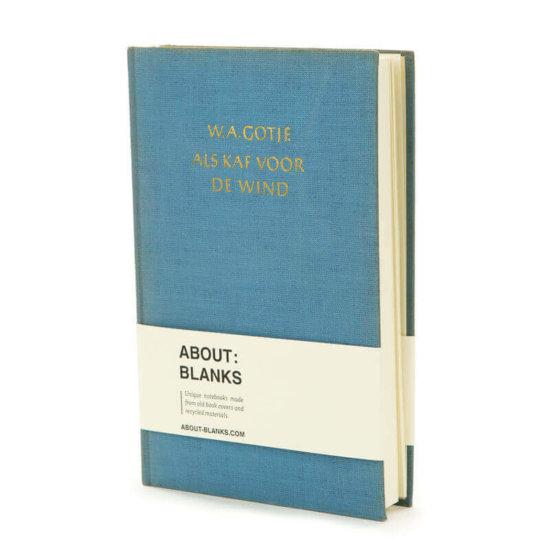 Unique handmade rebound book cover notebook