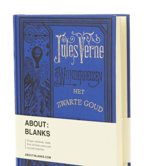 Jules verne notebook About Blanks
