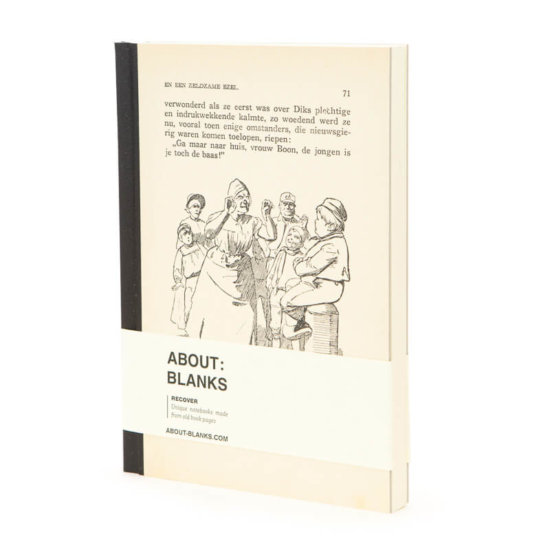 Kids About Blanks RECOVER notebook