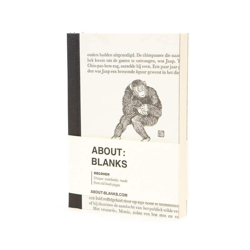 Monkey notebook (A6)
