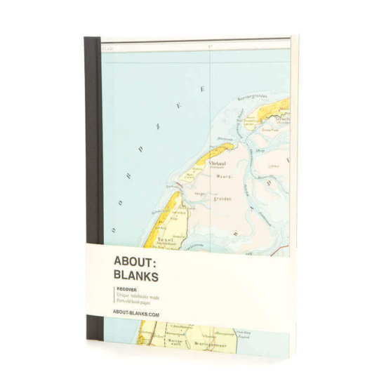 Islands notebook about blanks Recover