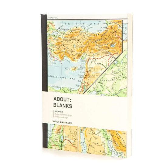 Atlas notebook maps