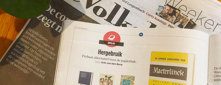 De Volkskrant About Blanks notebooks