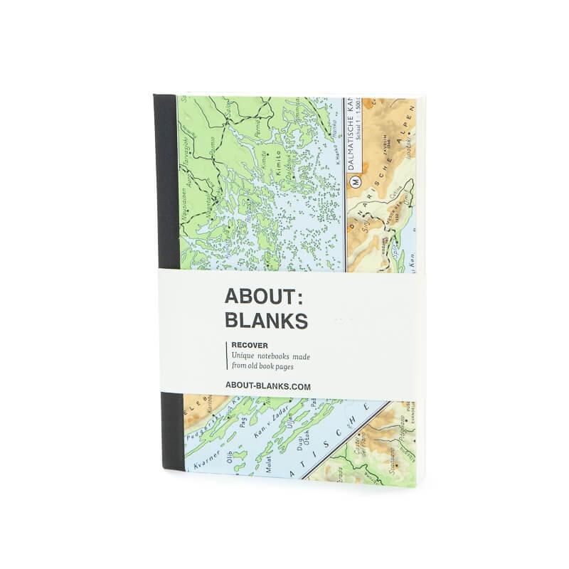 Map notebook (a6)