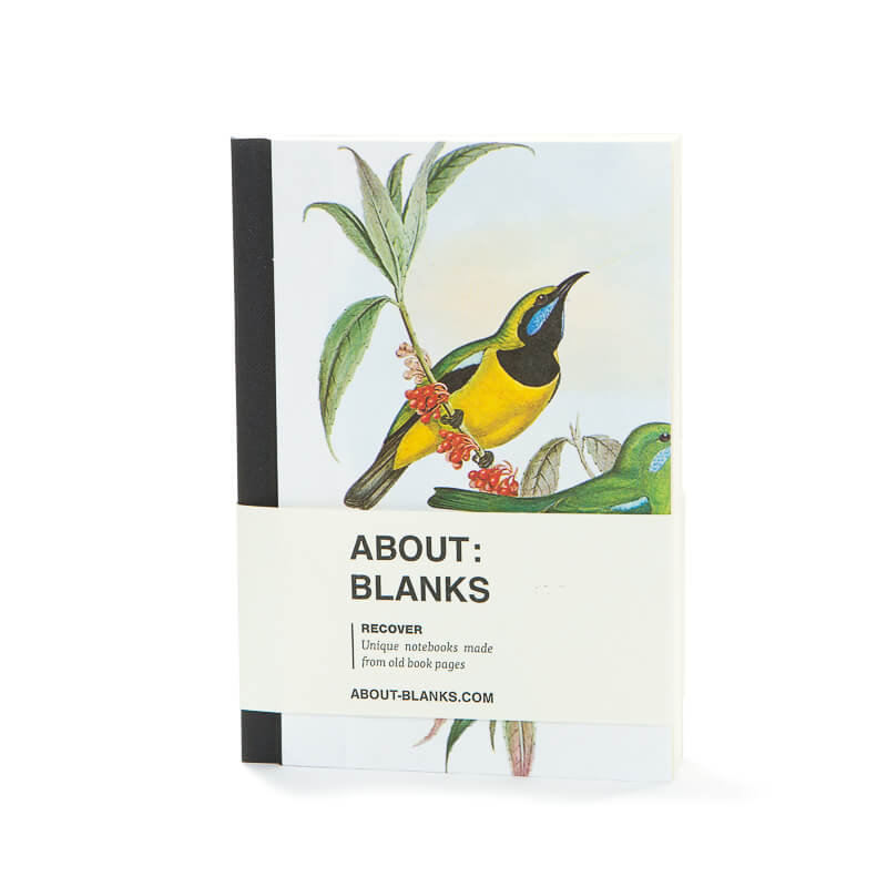Yellow bird notebook (a6)