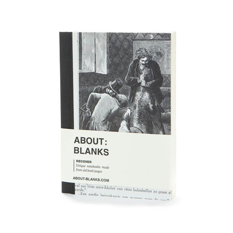 Donker notitieboek (a6)