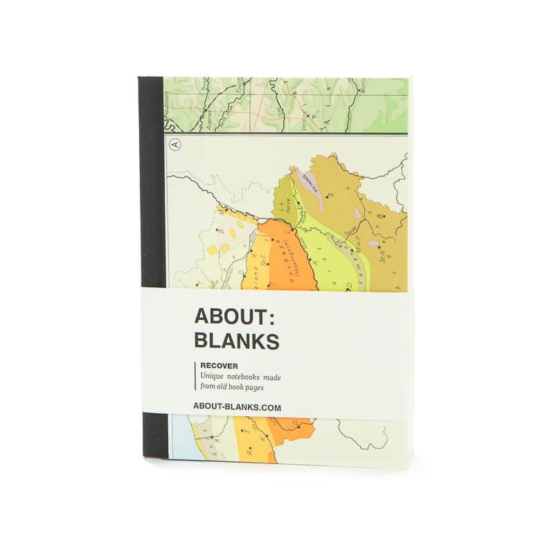 Maps notitieboek (a6)