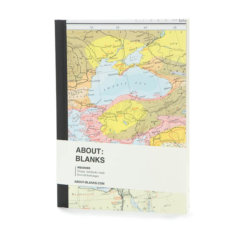Black sea notebook (a5)