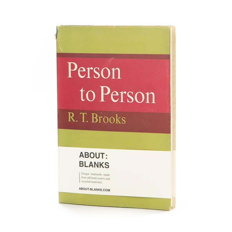 Persoon notitieboek