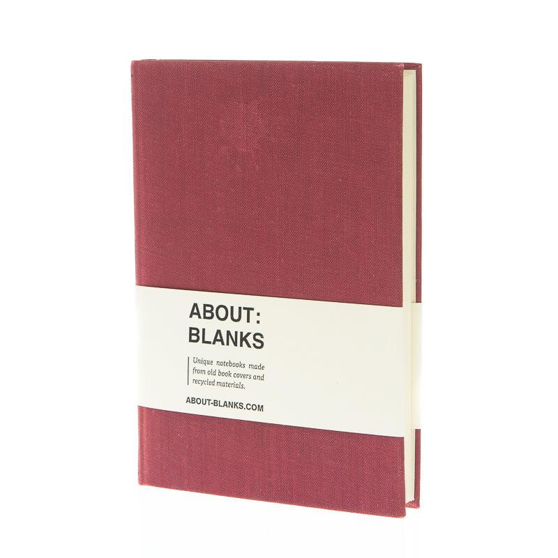Aubergine notitieboek