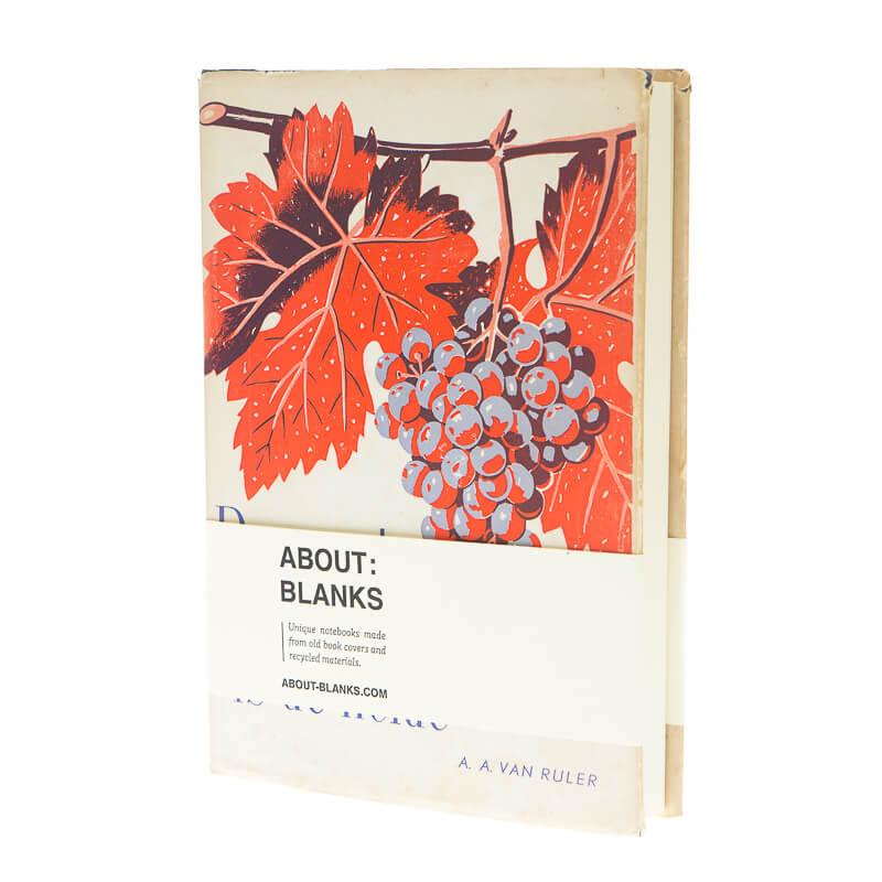 Druiven notitieboek