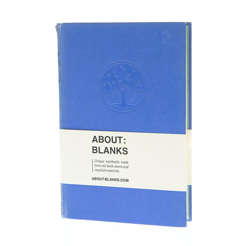 Blauwe boom notitieboek