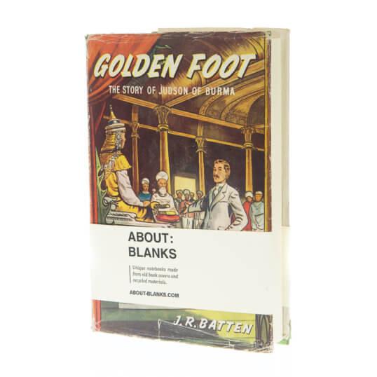 Golden foot notebook