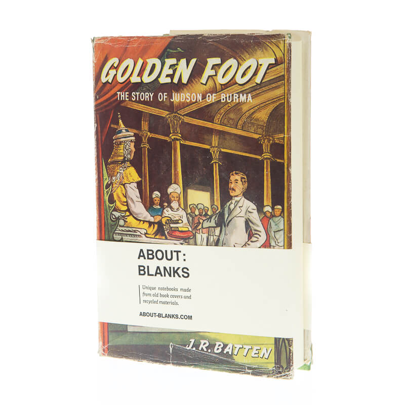 Golden foot notebook