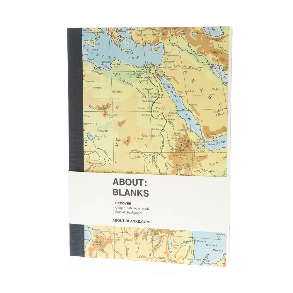 Rode zee notitieboek (a5)