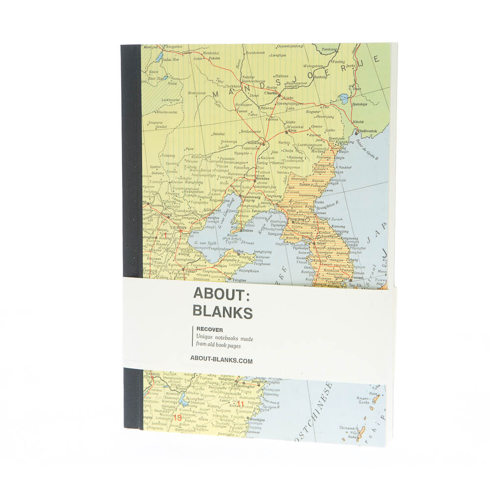 Map notebook (a5)