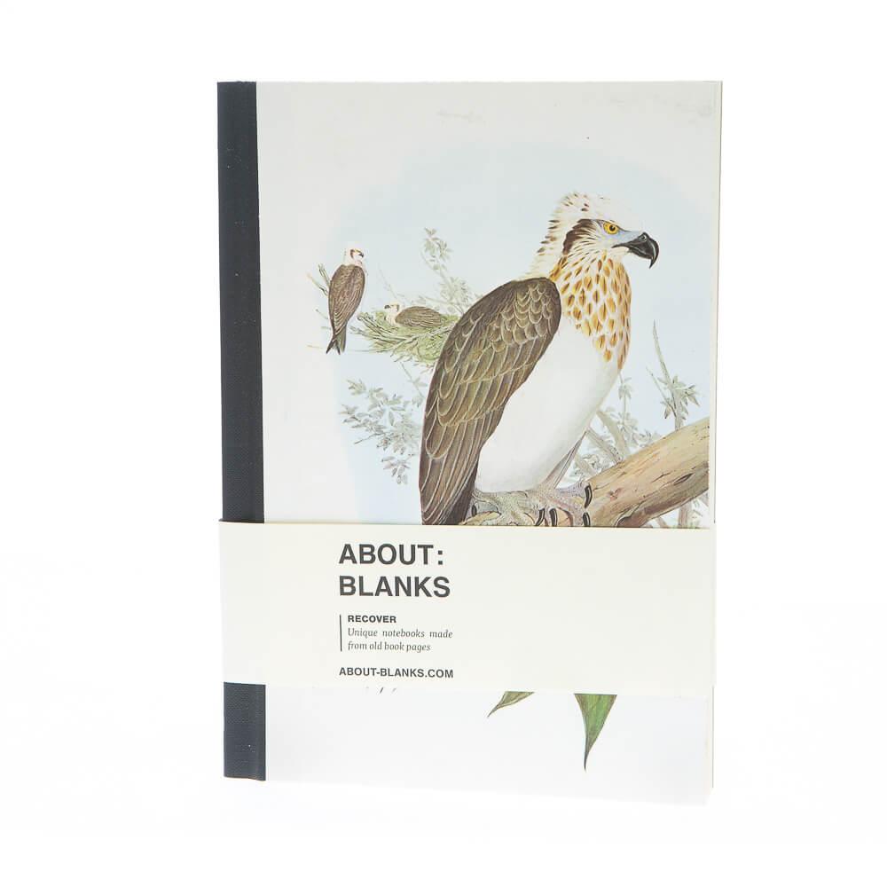 Grote vogel notitieboek (a5)