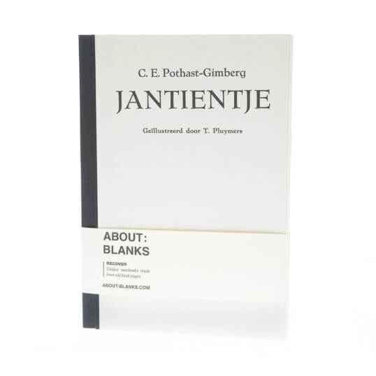 Jantientje notebook (a5)